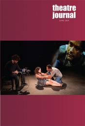 Theatre Journal 71.2 cover